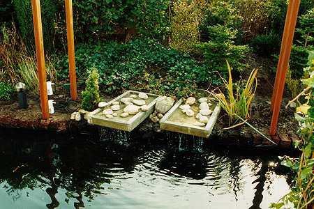 waterelementen tuinaanleg
